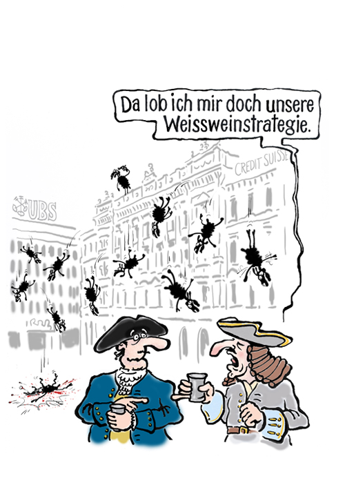 Sechseläuten Cartoon 2012